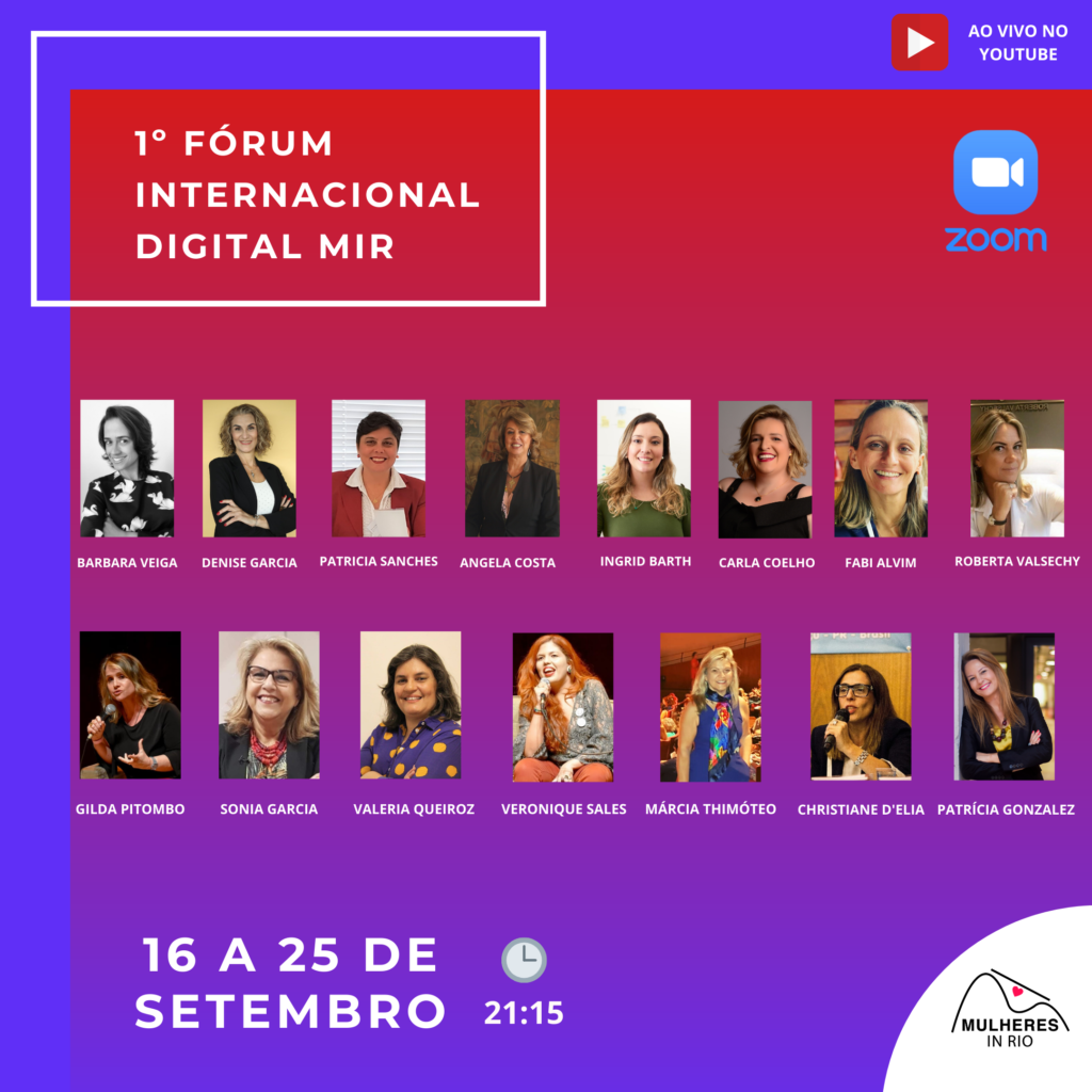Fórum Internacional MiR 2020