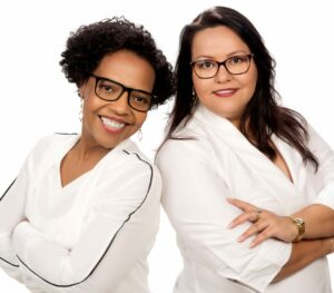 Rosangela Gouvea e Lívia Monteiro